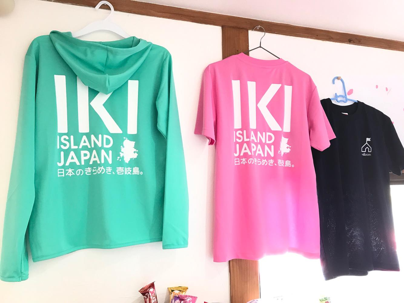 IKIパーカーIKITシャツ