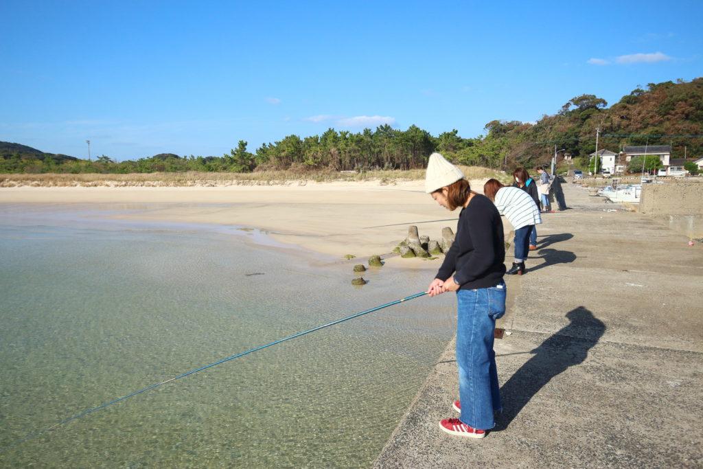 波止釣り体験 長崎県壱岐島