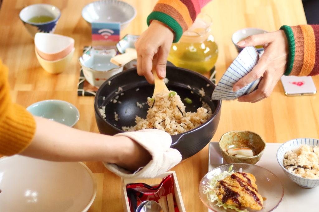 郷土料理・鯛めし作り体験 長崎県壱岐島