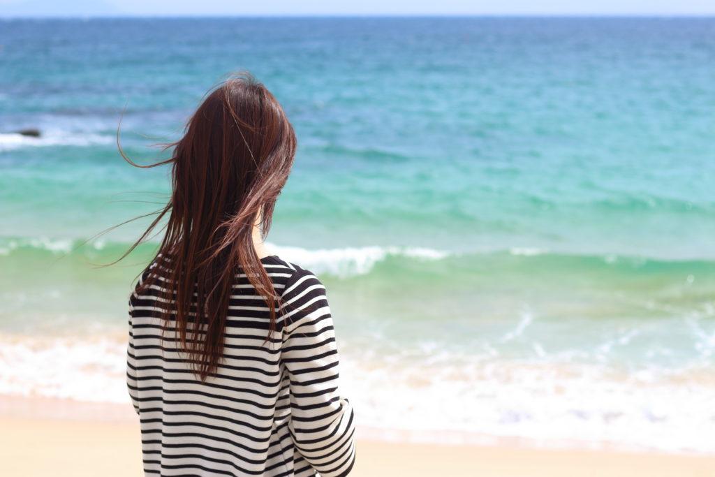 砂浜さんぽ体験 長崎県壱岐島